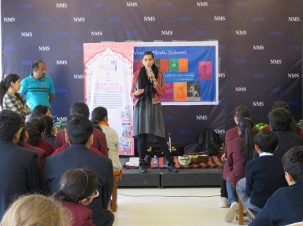 Jaipur Literature Festival Outreach January 2016, India