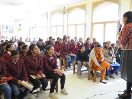 Jaipur Literature Festival Outreach January 2016, India